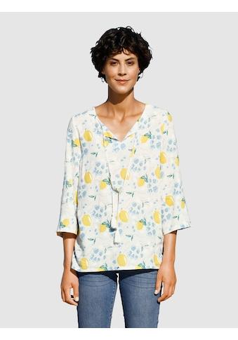Dress In Bluse mit sommerlichem Druck kaufen