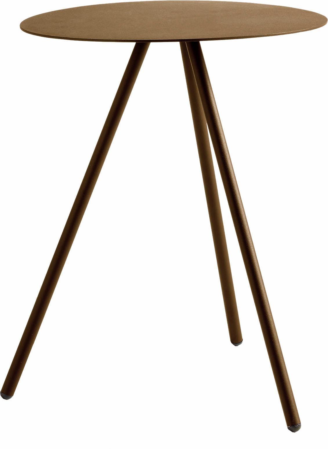 hülsta Beistelltisch MULTI - VARIS 02, aus Metall, Höhe 51 cm gelb Beistelltische Tische