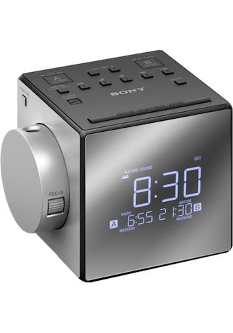 Sony Radio »Uhrenradio mit Projektor ICF - C1PJ« kaufen