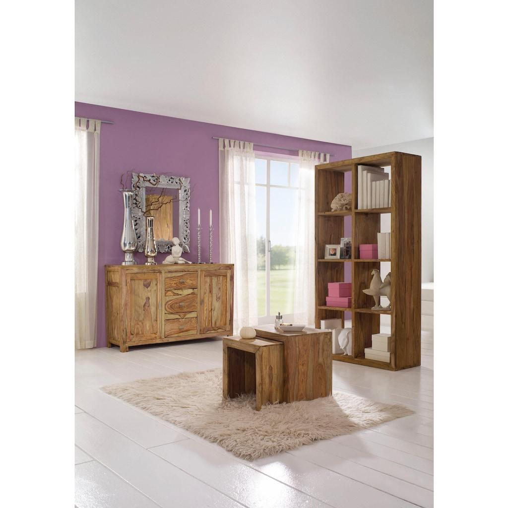 Gutmann Factory Satztisch »Inka«, aus massivem Sheesham Holz