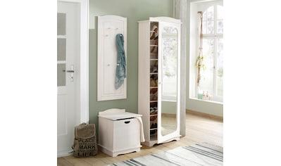 Home affaire Garderoben-Set »Broga«, (Set, 3 tlg.), aus massiver Kiefer kaufen