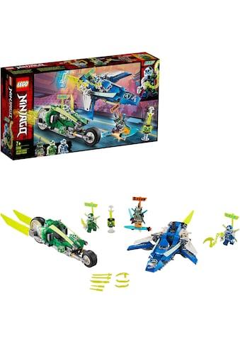 LEGO® Konstruktionsspielsteine »Jay und Lloyds Power-Flitzer (71709), LEGO® NINJAGO®«, (322 St.), Made in Europe kaufen