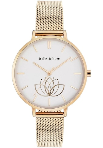 Julie Julsen Quarzuhr »LOTUS FLOWER GOLD, JJW1100GME« kaufen
