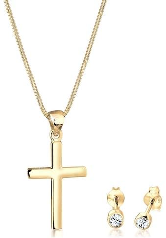 Elli Schmuckset »Kreuz, 0901862219« (Set, 4 tlg.) kaufen
