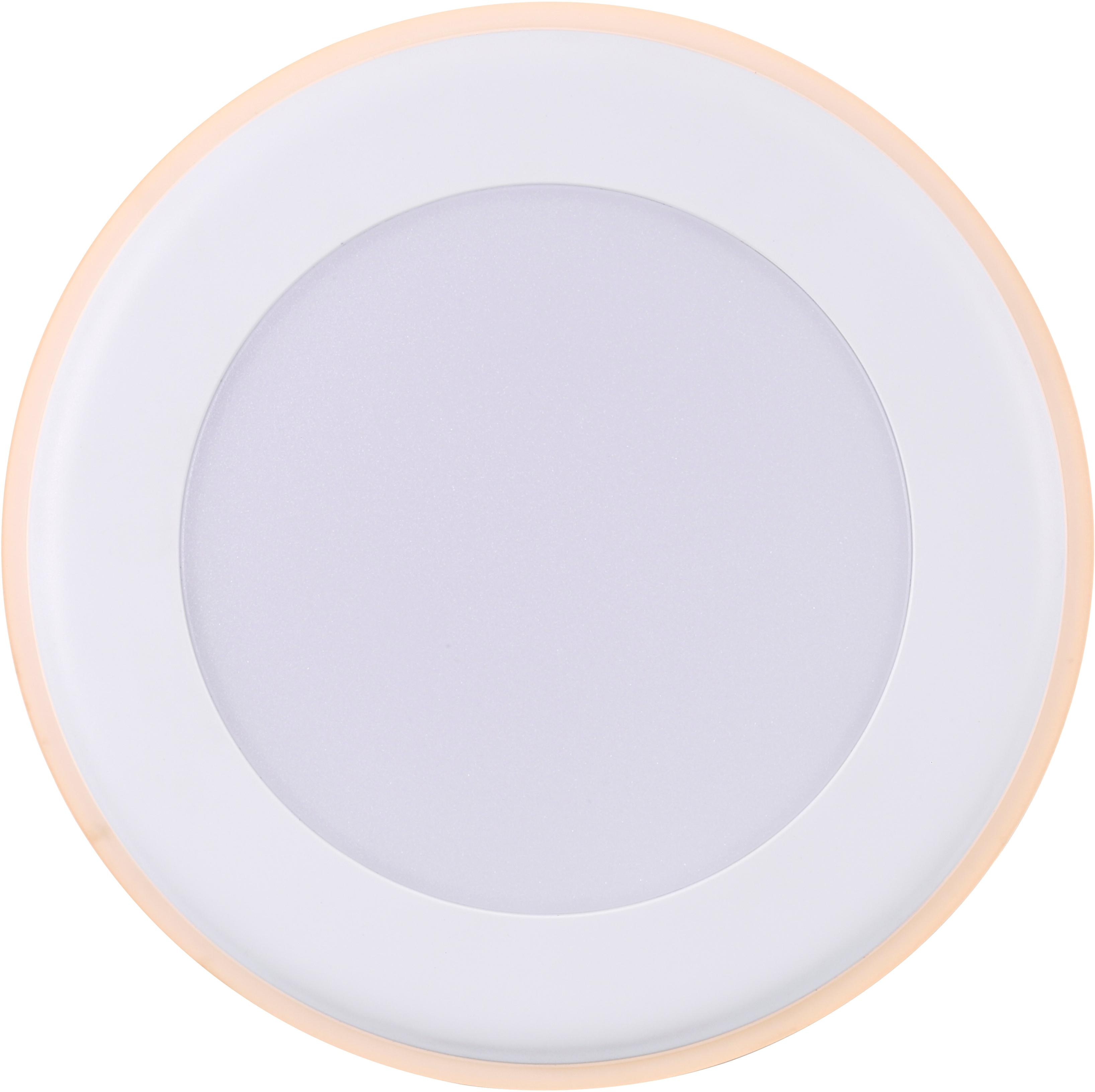 Nordlux LED Einbaustrahler 2er Set Elkton 14, LED-Board, Warmweiß, Einbauleuchte mit integriertem Dimmer
