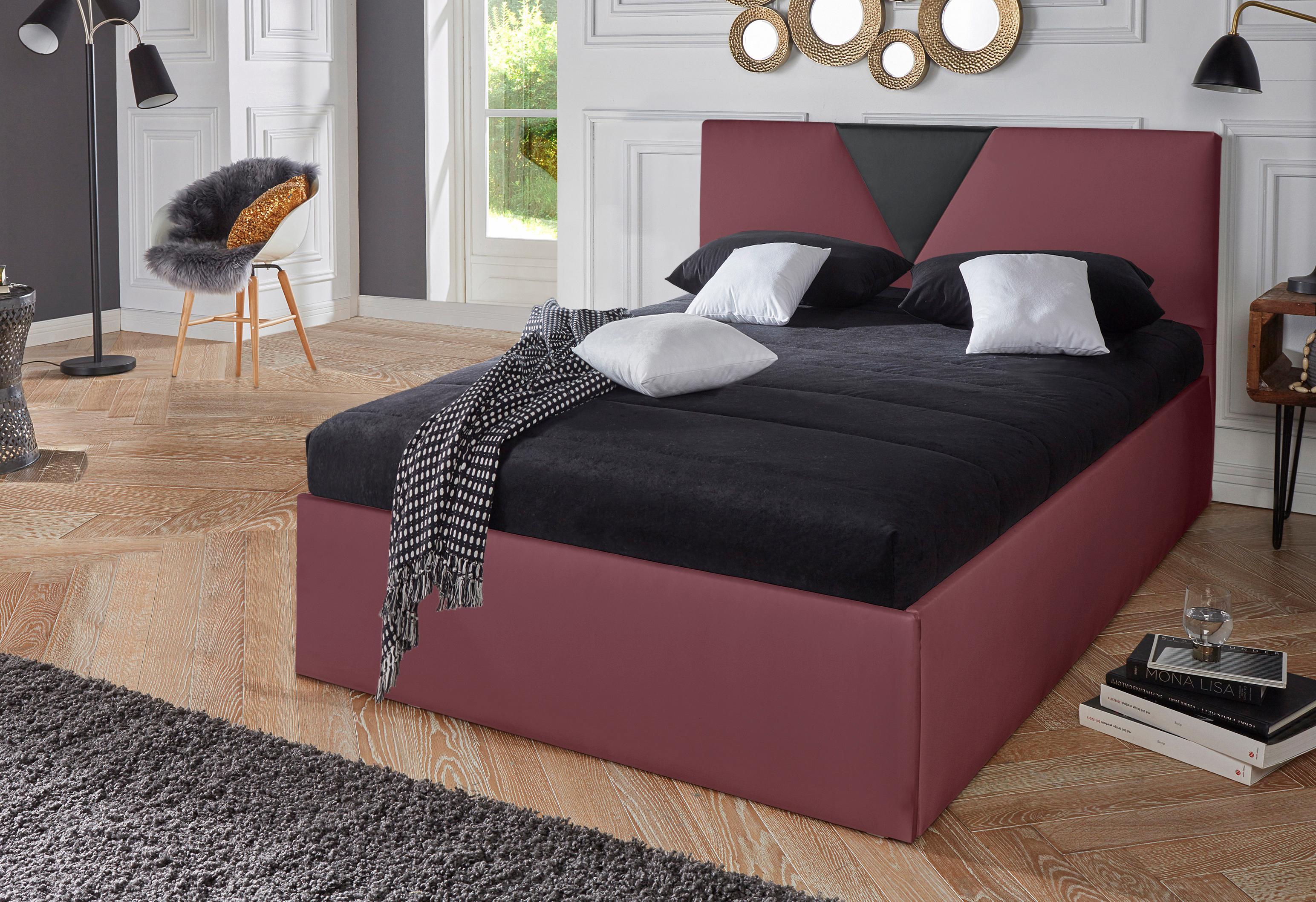Westfalia Schlafkomfort Polsterbett Malibu   Schlafzimmer > Betten > Polsterbetten   Rot   Westfalia Schlafkomfort