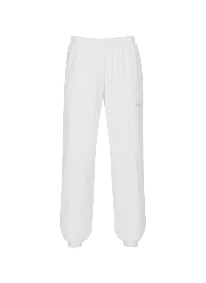 Trigema Freizeithose mit Innenfutter | Sportbekleidung > Sporthosen | Weiß | Baumwolle - Polyamid | Trigema