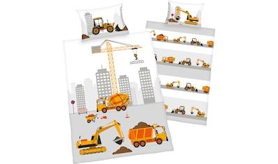 Baby Best Babybettwäsche »Baustelle«, mit niedlichem Baustellen Motiv kaufen