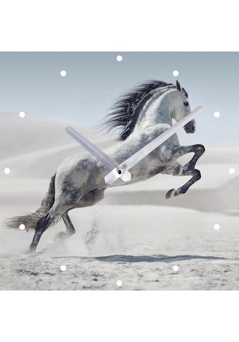 Spiegelprofi GmbH Wanduhr »Pferd« kaufen