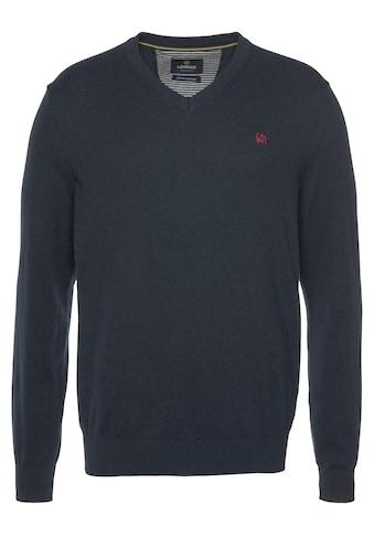 LERROS V-Ausschnitt-Pullover, im Basiclook kaufen