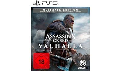 UBISOFT Spiel »Assassin's Creed Valhalla - Ultimate Edition«, PlayStation 5 kaufen