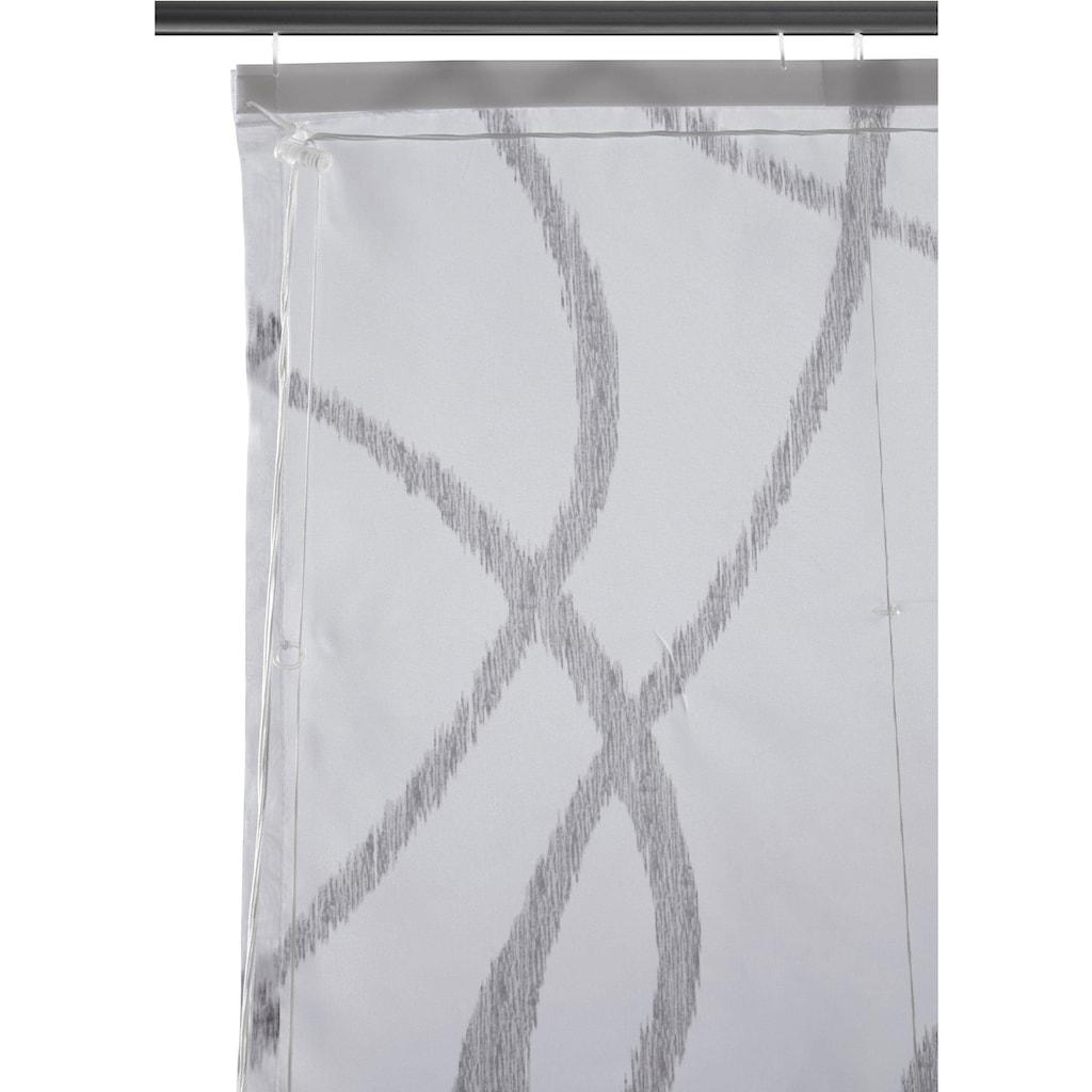 my home Raffrollo »Bene«, mit Klettband, ohne Bohren