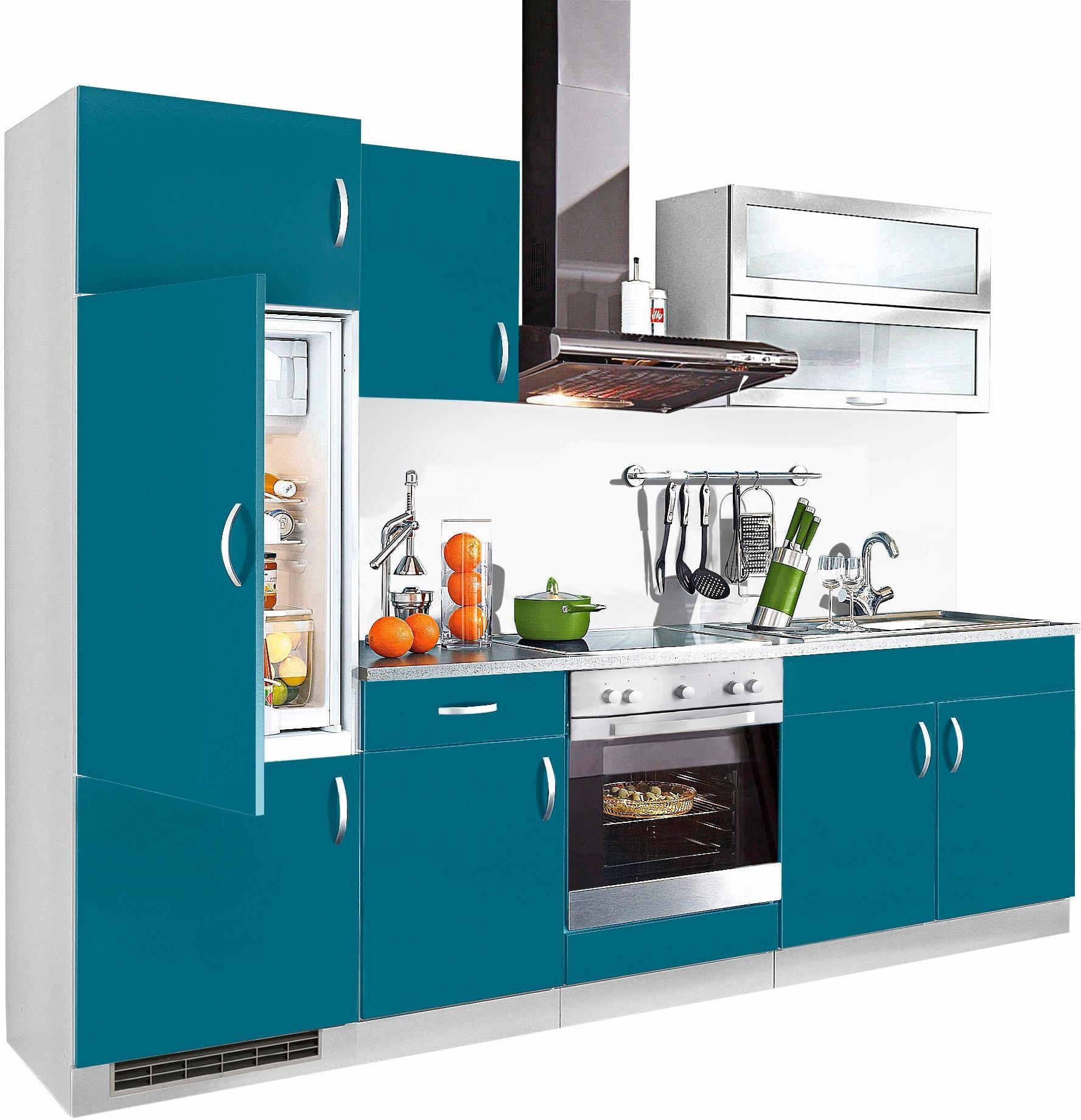 wiho Küchen Küchenzeile Amrum | Küche und Esszimmer > Küchen > Küchenzeilen | Blau | Wiho Küchen