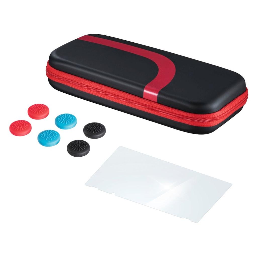 Hama Set (Tasche, Schutzglas, Control-Aufsätze) für Nintendo