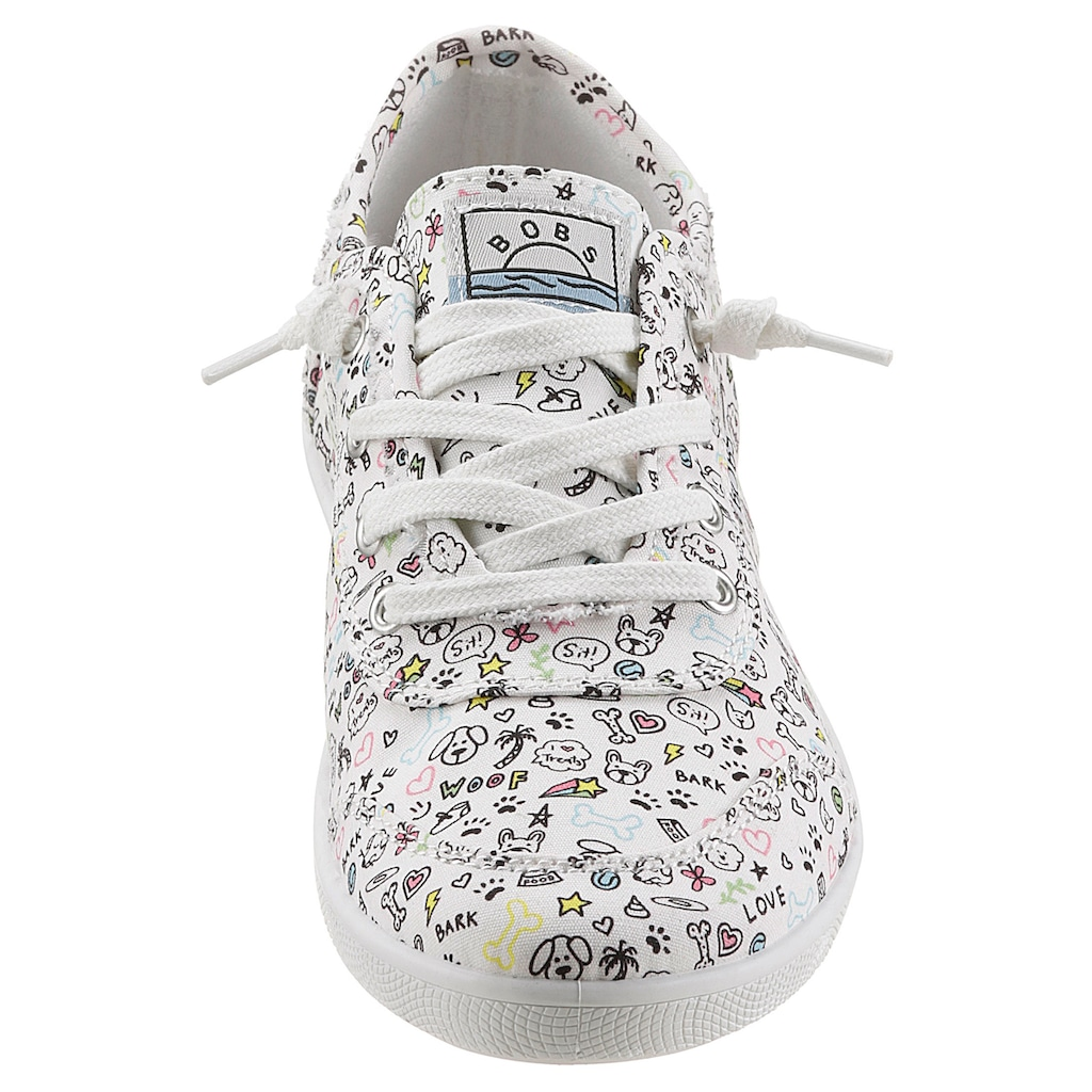 Skechers Slip-On Sneaker »BOBS B CUTE«, mit witzigem Print