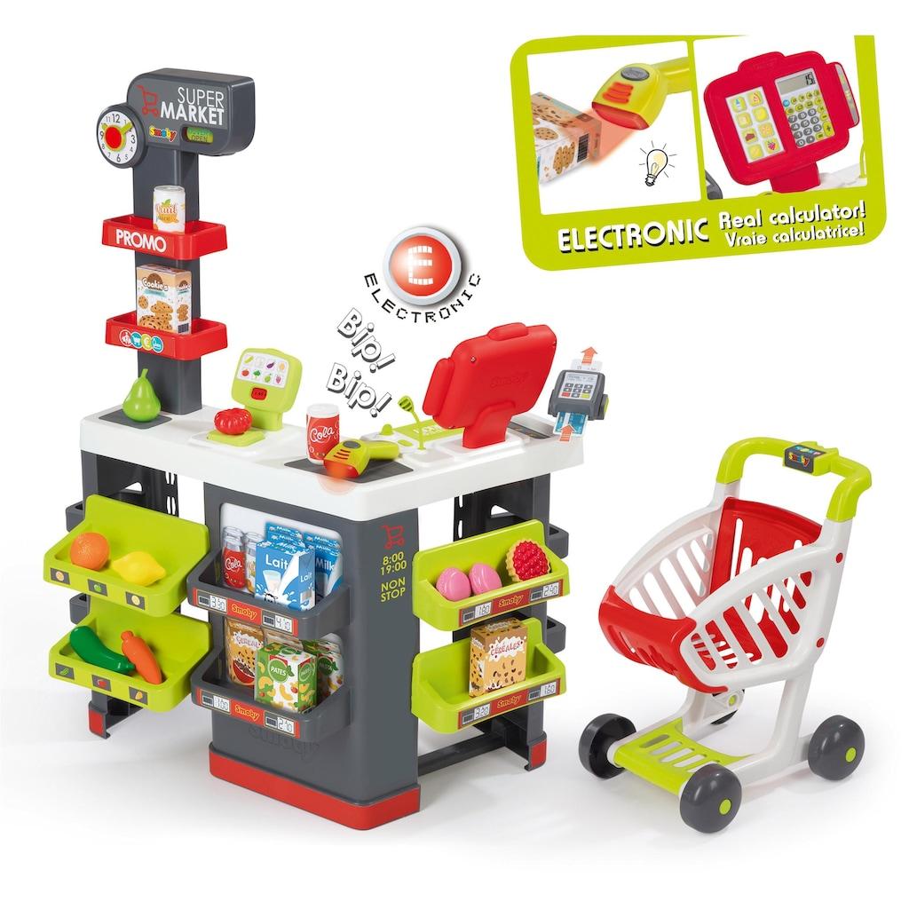 Smoby Kaufladen »Supermarkt mit Einkaufswagen«, Made in Europe
