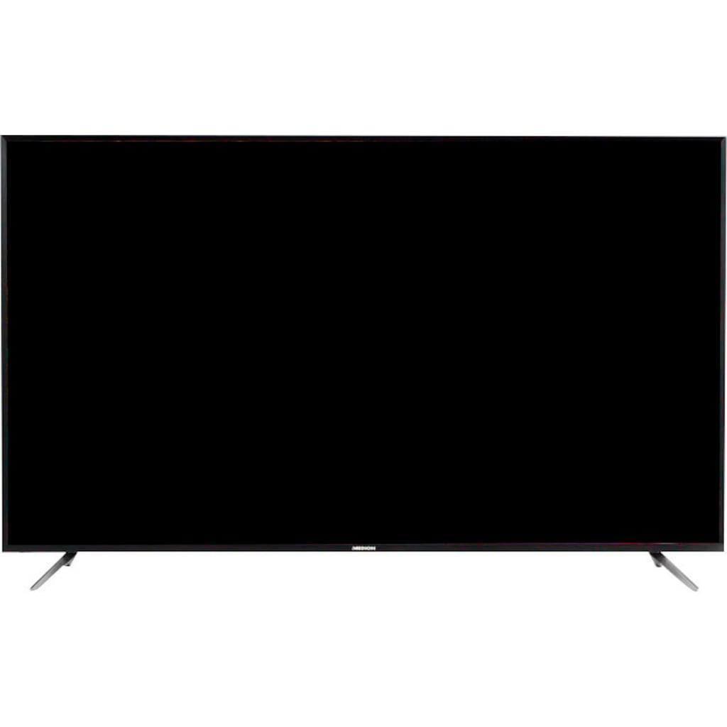 """Medion® LED-Fernseher »X17576 (MD 31575)«, 189,3 cm/75 """", 4K Ultra HD, Smart-TV, mit LED-Backlight Technologie"""