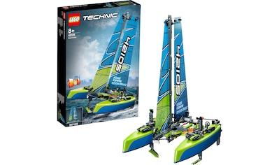 "LEGO® Konstruktionsspielsteine ""Katamaran (42105), LEGO® Technic"", Kunststoff, (404 - tlg.) kaufen"