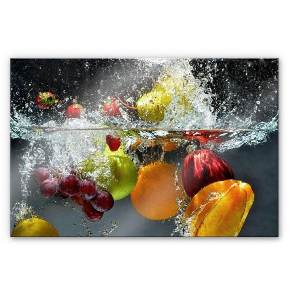 Wall-Art Herd-Abdeckplatte »Spritzschutz Küchenwand Obst«, (1 tlg.)