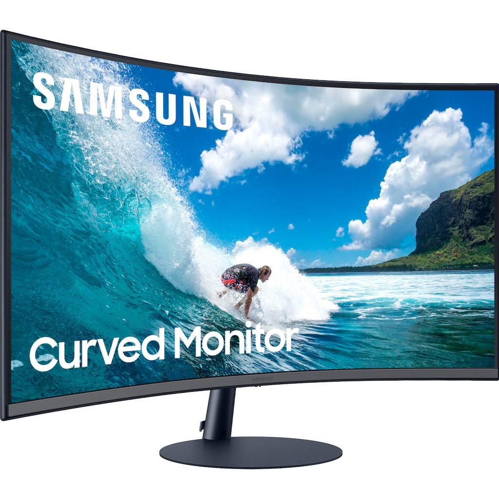 """Samsung Curved-Gaming-Monitor »C32T550FDR«, 80 cm/32 """", 1920 x 1080 px, Full HD, 4 ms Reaktionszeit, 75 Hz"""