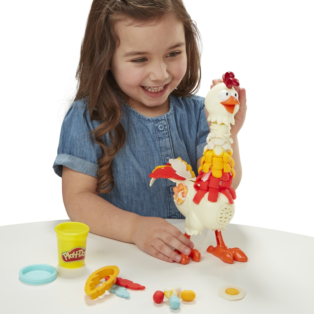 Hasbro Knete »Play-Doh Animal Crew, Cluck-a-Dee Verrücktes Huhn«