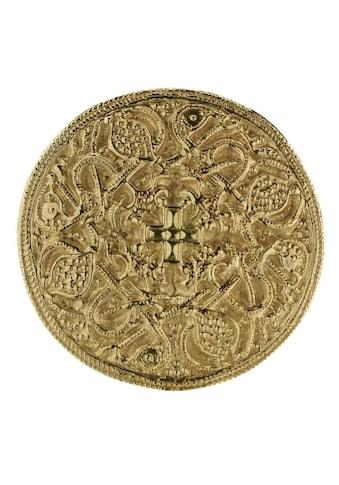OSTSEE-SCHMUCK Brosche »- Hiddensee 42 mm rund - Silber 925/000, vergoldet -,« kaufen