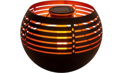näve LED Außen-Tischleuchte »Solar-Tischleuchte«, LED-Modul, 1 St., Warmweiß,... kaufen