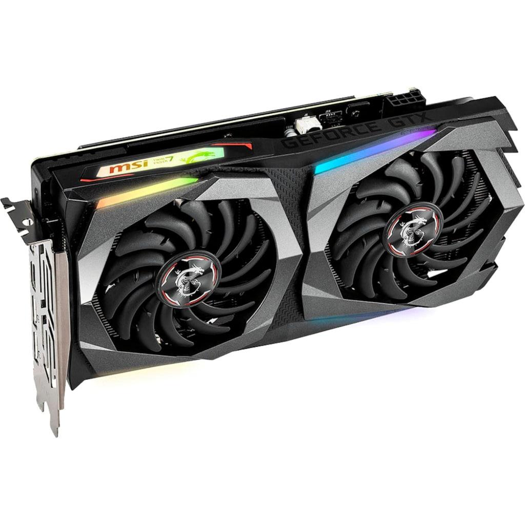 MSI »GTX 1660 GAMING X 6G« Grafikkarte (6 GB, GDDR5)