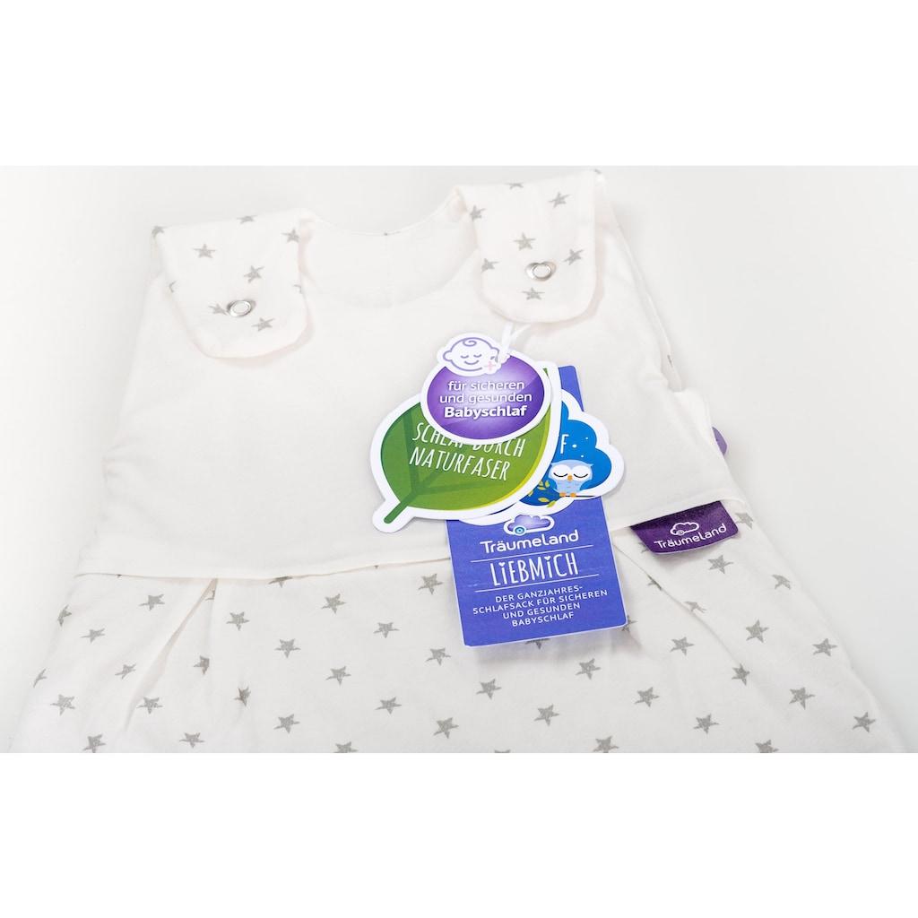 Träumeland Babyschlafsack »Set Sternchen«, (Packung, 3 tlg., 3er-Pack)