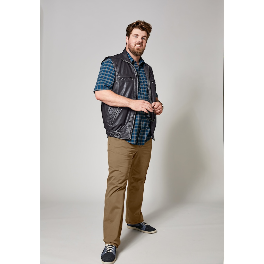 Men Plus by HAPPYsize 5-Pocket-Hose, Spezialschnitt