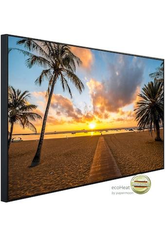 Papermoon Infrarotheizung »Santa Cruz Beach«, sehr angenehme Strahlungswärme kaufen