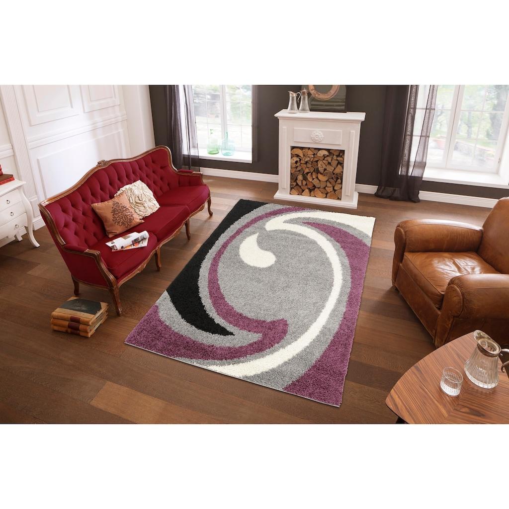 my home Hochflor-Teppich »Tarragona«, rechteckig, 30 mm Höhe, Wohnzimmer