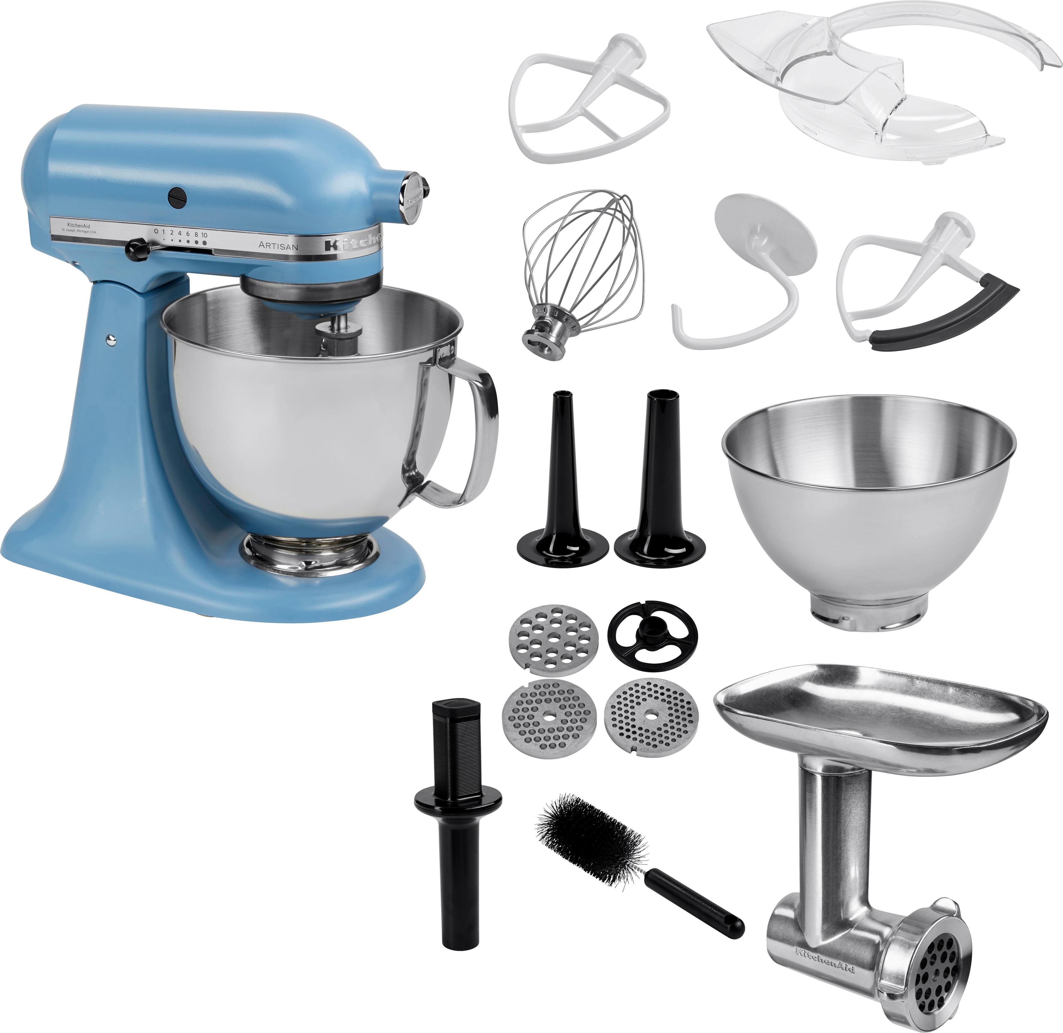 Kitchenaid Kuchenmaschine Artisan 5ksm175psevb Mit Gratis Ganzmetall