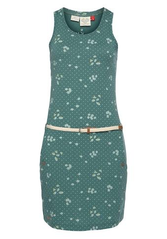 Ragwear Shirtkleid »KESY«, (2 tlg., mit abnehmbarem Gürtel), Allover-Trend Druck: Kamille kaufen