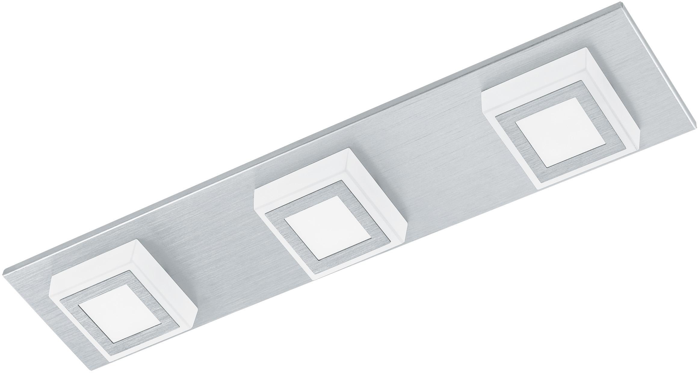 EGLO LED Deckenleuchte MASIANO, LED-Board, Warmweiß, LED tauschbar