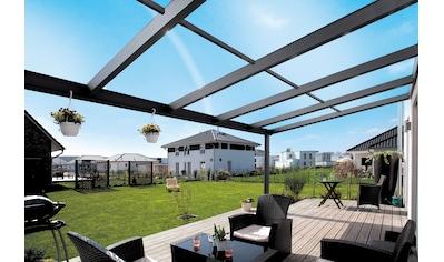 Skanholz Terrassendach »Modena«, 434 cm Breite, verschiedene Tiefe kaufen