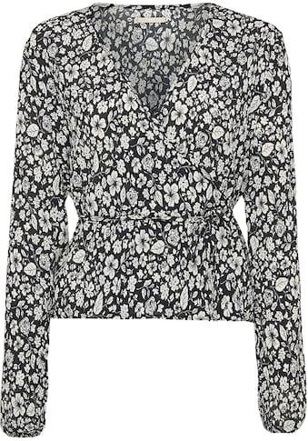Mexx Wickelbluse, mit floralem Allover-Print kaufen