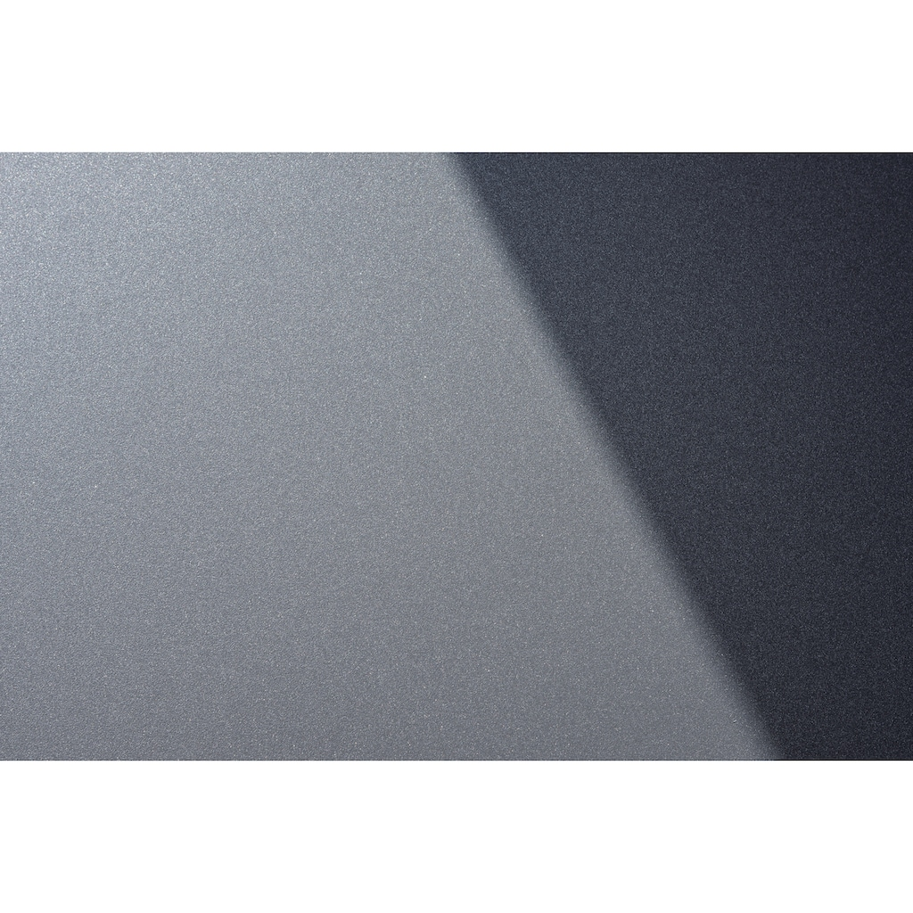GUTTA Rechteckvordach »BS Plus«, mit Seitenteil rechts, Briefkasten, BxTxH: 200x90x234,5 cm