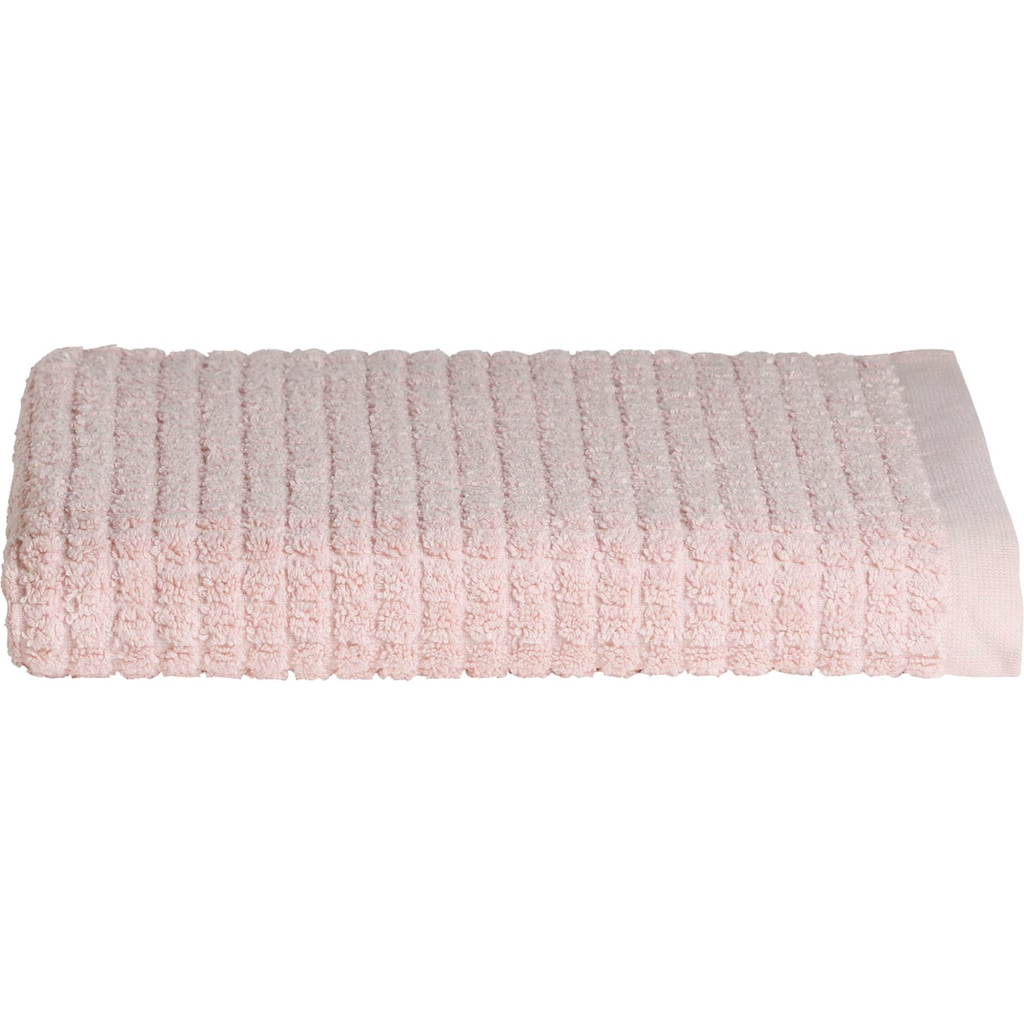 Seahorse Badetuch »Cube«, (1 St.), mit stilvollem Blockmuster
