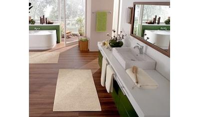 Kleine Wolke Badematte »Chrissy«, Höhe 10 mm, rutschhemmend beschichtet, fußbodenheizungsgeeignet, beidseitig verwendbar kaufen
