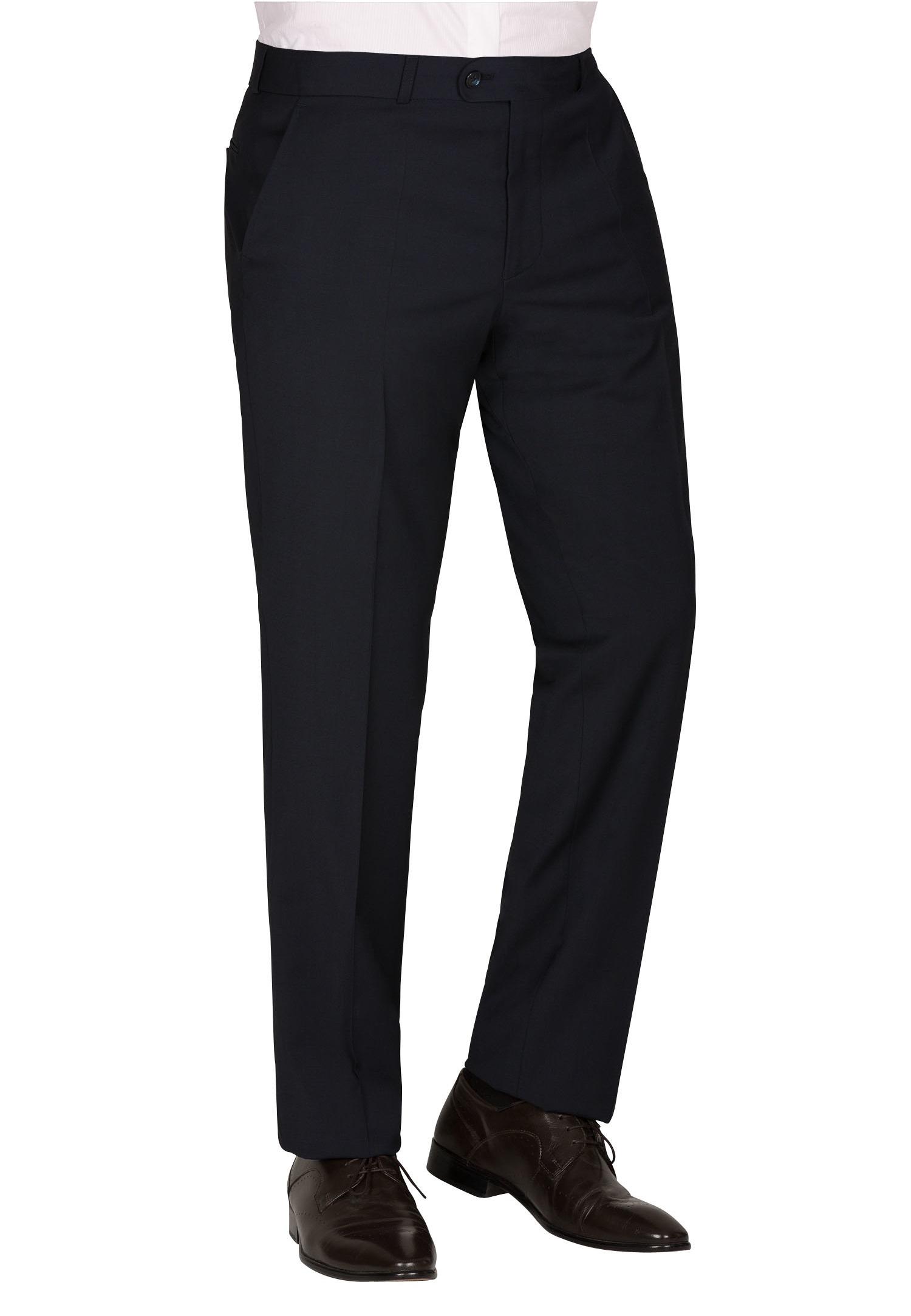 CARL GROSS Anzughose CG TR-Sascha_A | Bekleidung > Hosen > Anzughosen | Blau | Baumwolle | Carl Gross