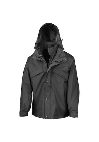 Result 3-in-1-Funktionsjacke »Herren 3-in-1 StormDri Jacke mit Reißverschluss und Druckknöpfen, wasserabweisend, winddicht« kaufen