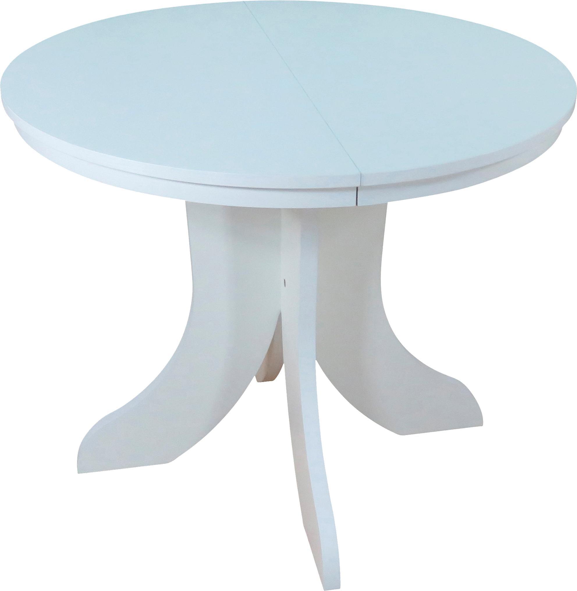 Esstisch Weimar weiß Esstische rund oval Tische