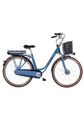 LLobe E-Bike »Blue Motion 2.0, 10,4Ah«, (mit Fahrradkorb) kaufen
