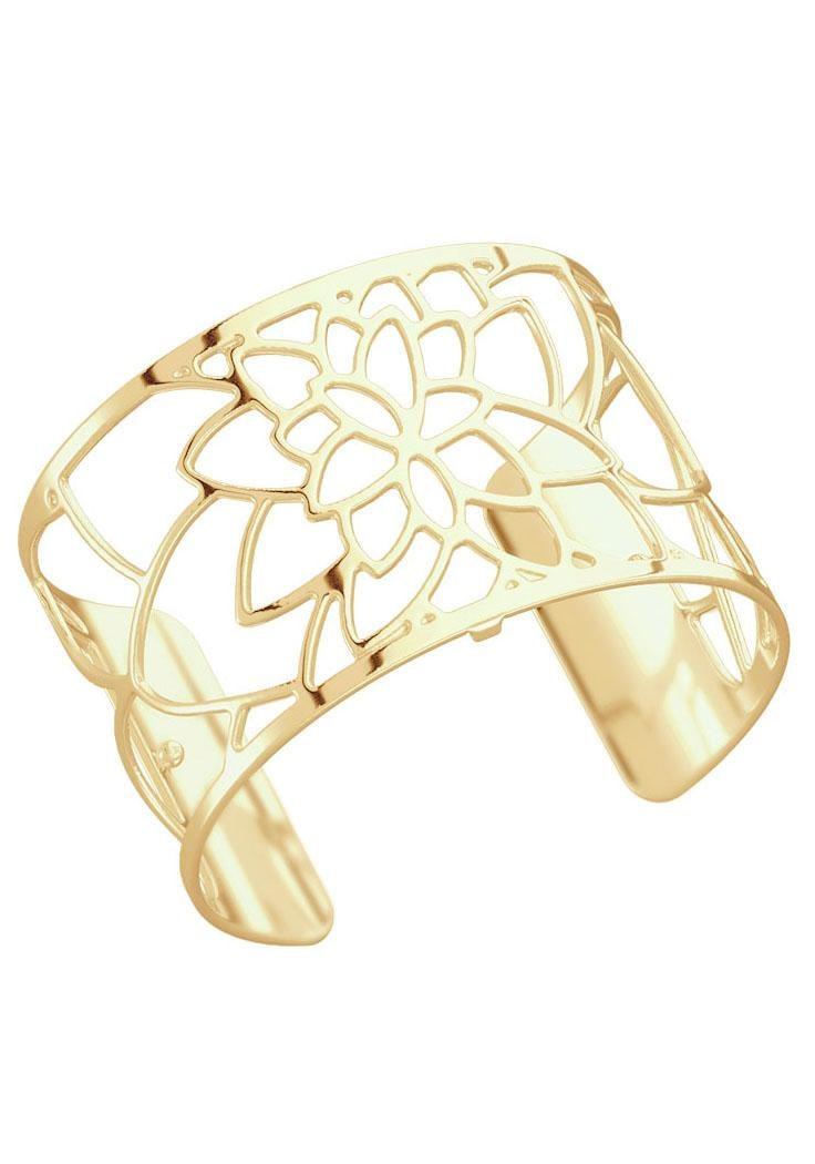 Les Georgettes Armspange FLOWER FLOG40 | Schmuck > Armbänder > Armspangen | Goldfarben | Les Georgettes