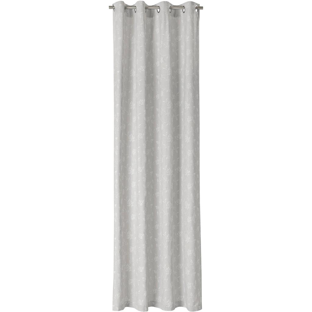 Neutex for you! Vorhang nach Maß »BRETAGNE«, Ösenschal mit Metallösen
