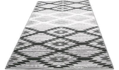 einfach Schöner Farbwelten Teppich »Leo«, rechteckig, 8 mm Höhe, Wohnzimmer kaufen