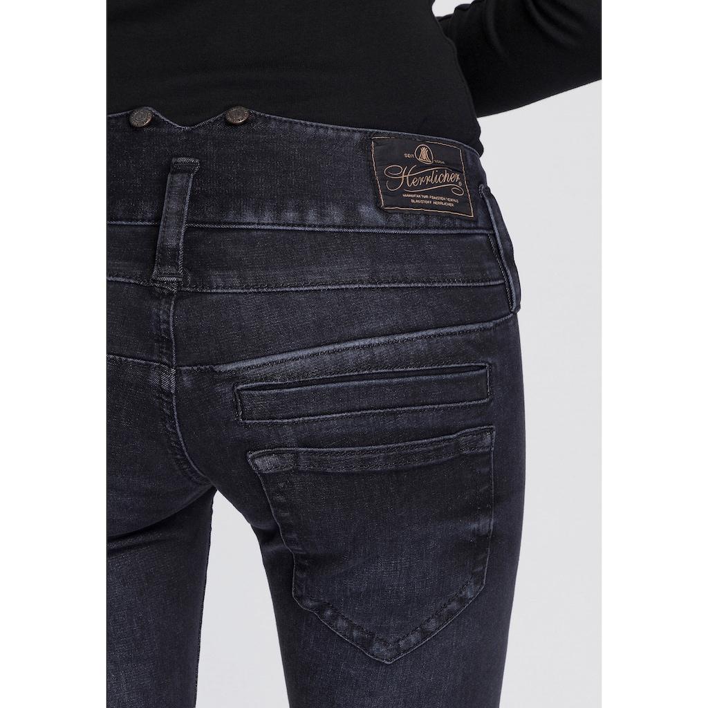 Herrlicher Slim-fit-Jeans »PITCH SLIM REUSED«, umweltfreundlich dank der ISKO New Technology