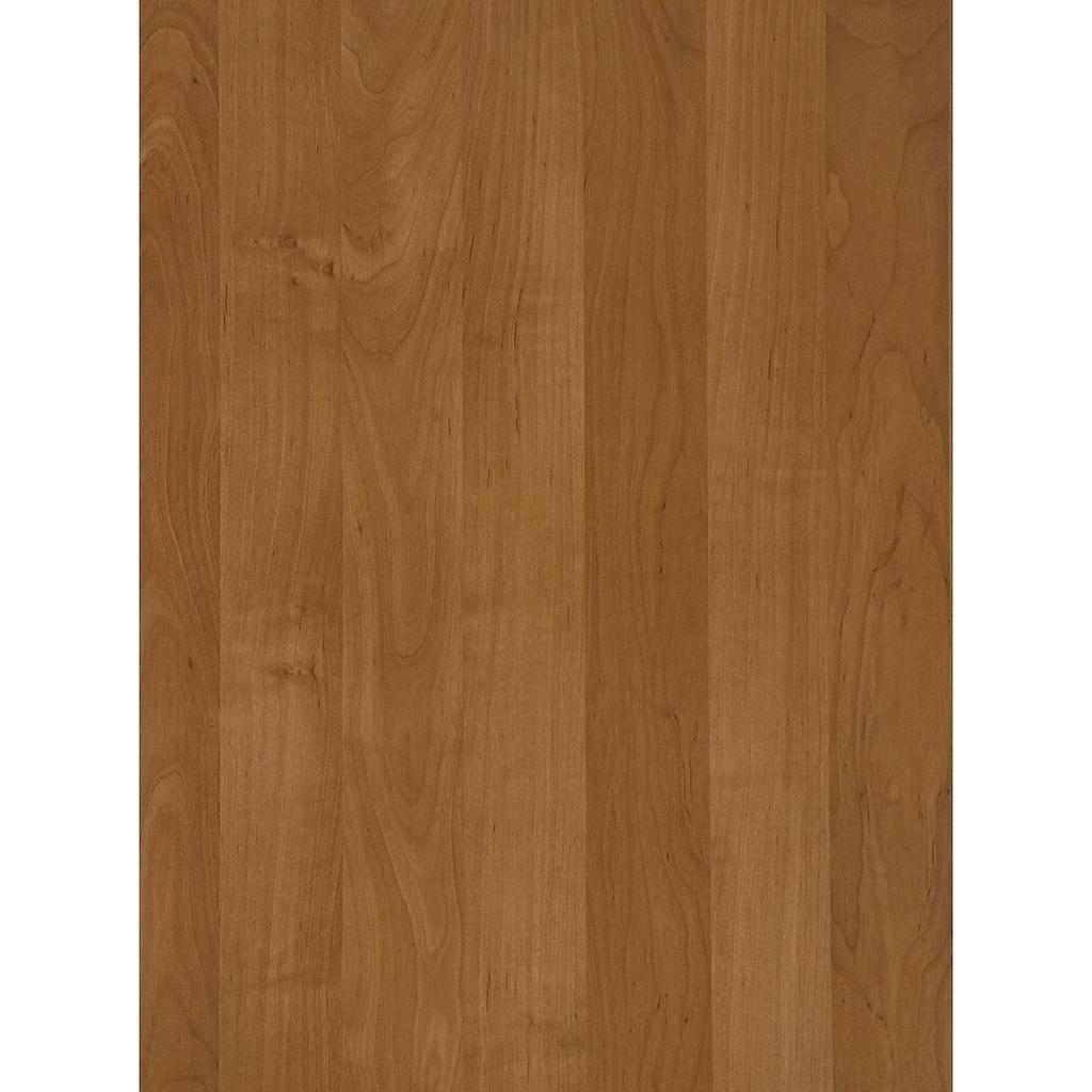 WIEMANN Drehtürenschrank »Bari«, mit Glasfront und Massivholz-Absetzungen