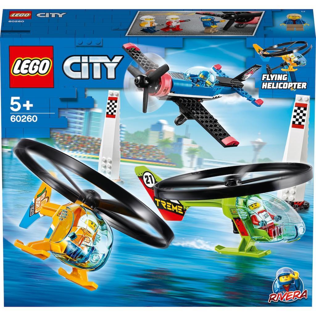 LEGO® Konstruktionsspielsteine »Air Race (60260), LEGO® City Airport«, (140 St.), Made in Europe